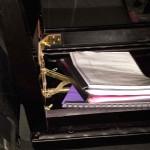 piano seat